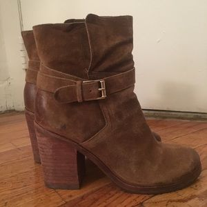 43f536a775f3b1 Sam Edelman Shoes - Sam Edelman perry brown suede ankle boot